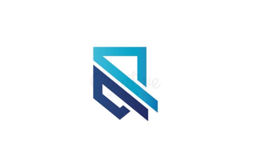 Abstract Shield Logo Design