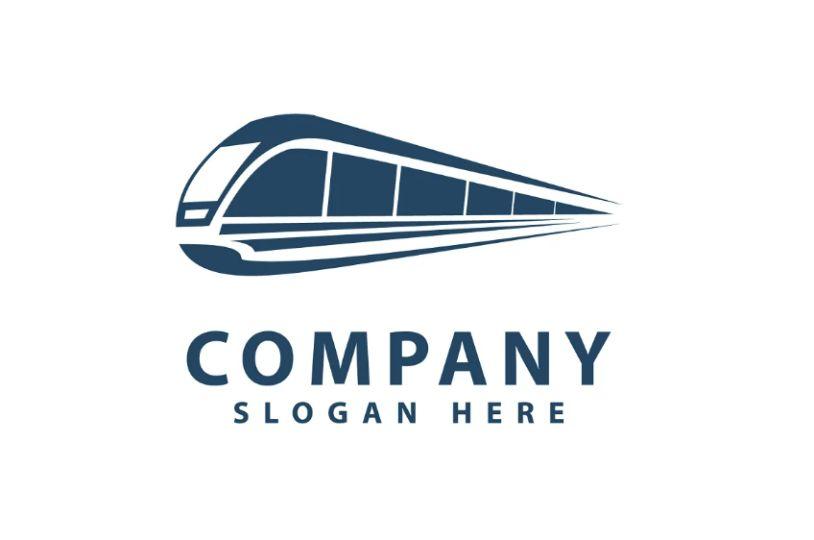 Abstract Train Logo Idea