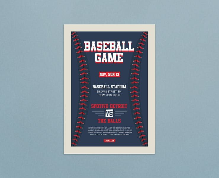 21+ Best Baseball Night Flyer Template Download