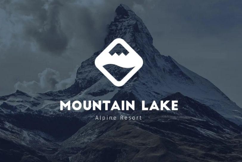 Alpine Resort Logo Idea
