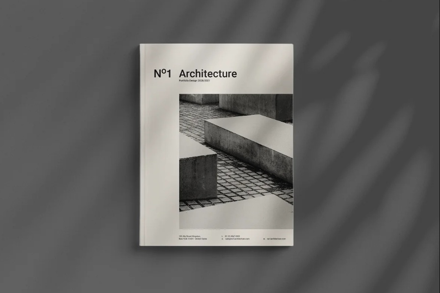 Architecture Brochure Template Design
