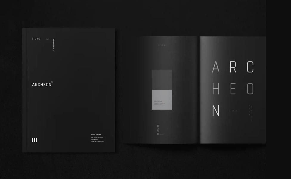 Architecture Portfolio Design Template