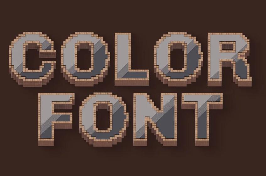 Artistic Minecraft Fonts