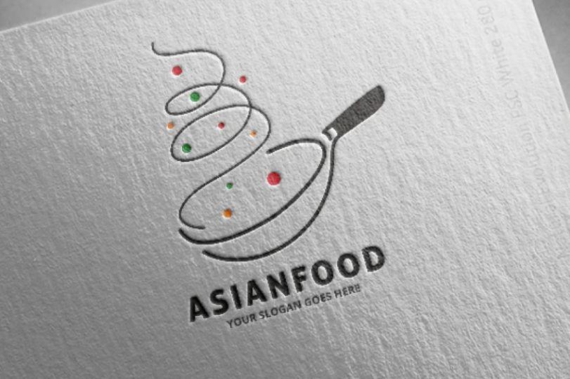 Asian Bistro Logo Template