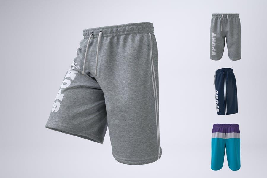 Atheletics Shorts PSD Templates