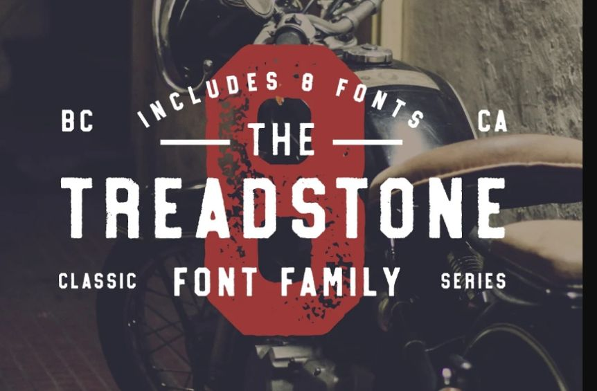Athletic Stamp Style Fonts