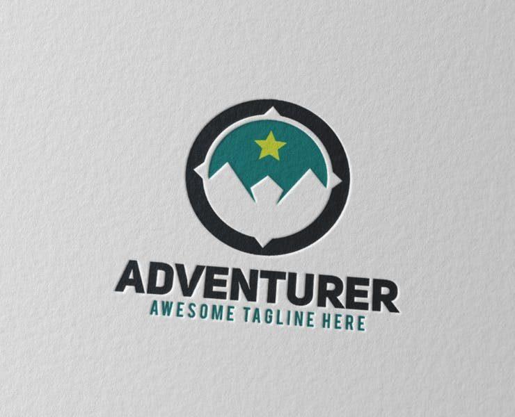 21+ Best Compass Logo Design Templates Download