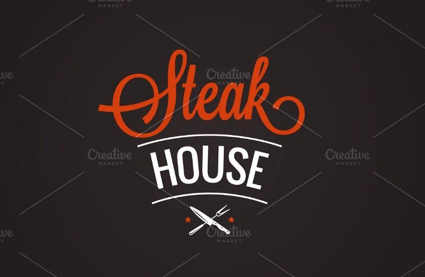 BBQ Grill Logo Template