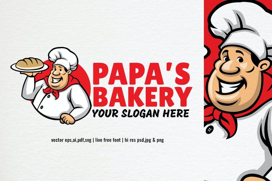 Bakery Chef Logo Design Ideas