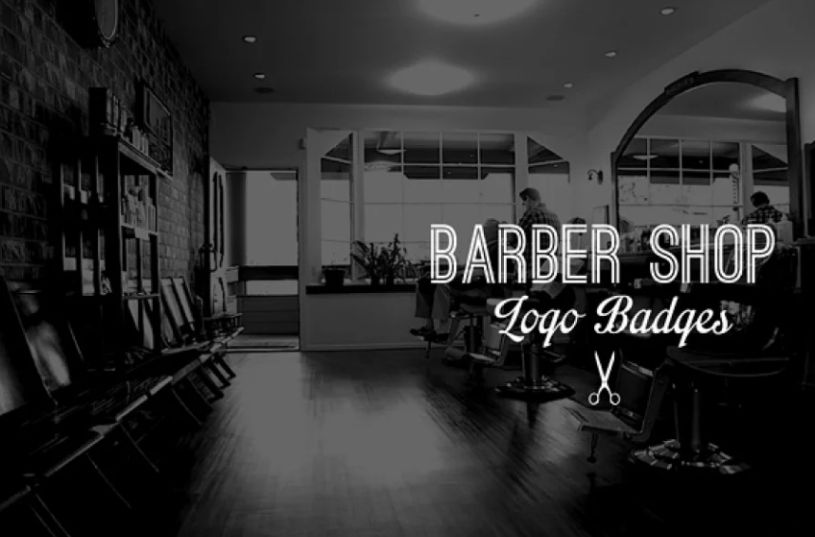 Barber Shop Logo Templates
