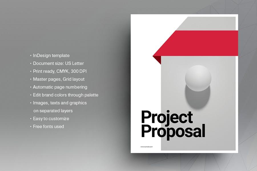 Beautiful InDesign Brochurre Template