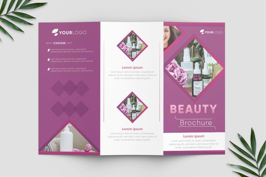 Beauty Spa Brochure Templates