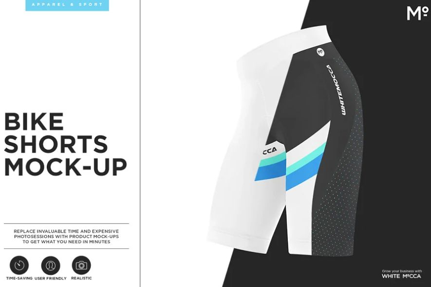 Biker Shorts Mockup Set
