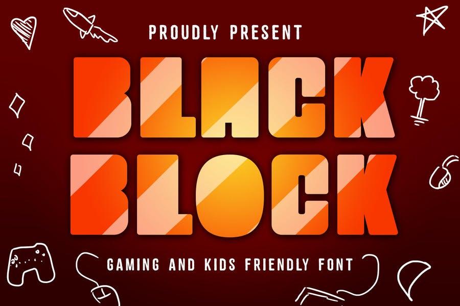 Block Gaming Typeface