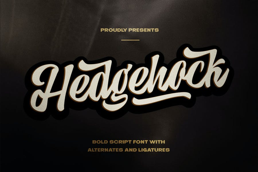Bold Scripted Logotype Fonts