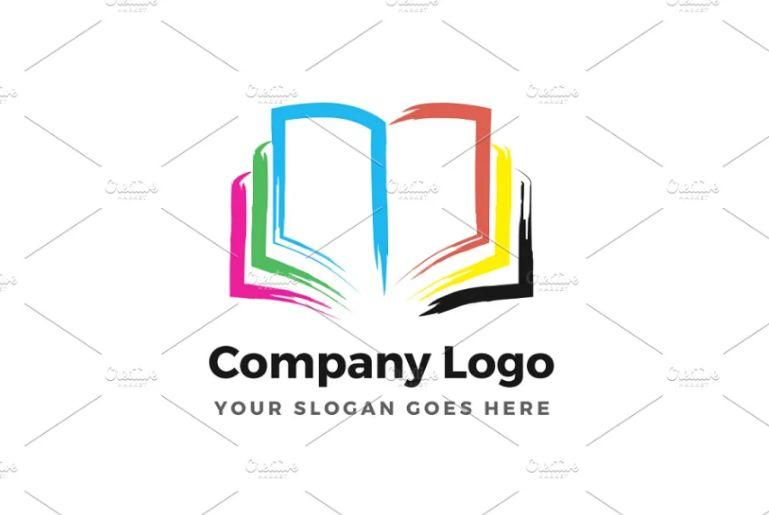 21+ Creative Book Logo Design Templates Download