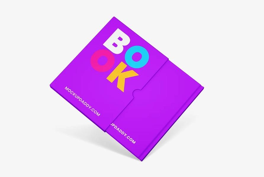 Booklet Branding Mockup PSD