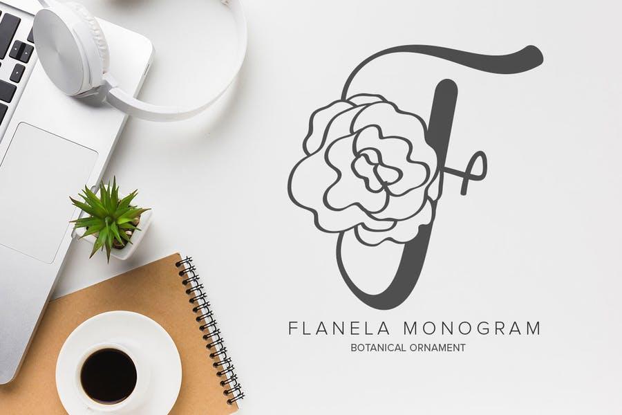 Botanical Decorative Typeface