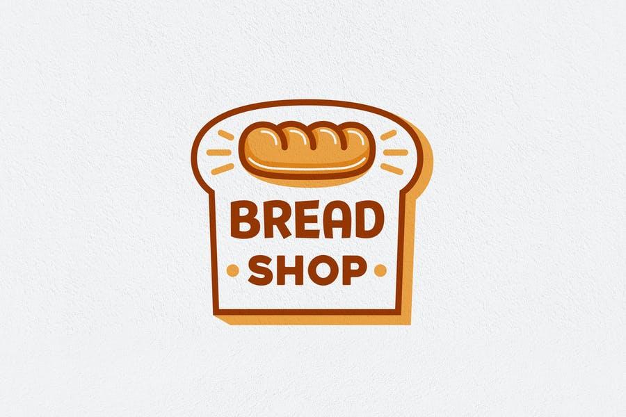 Bread Shop Logo Design