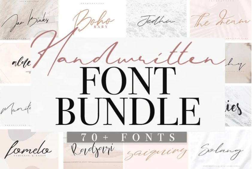 Brush Style Calligraphy fonts