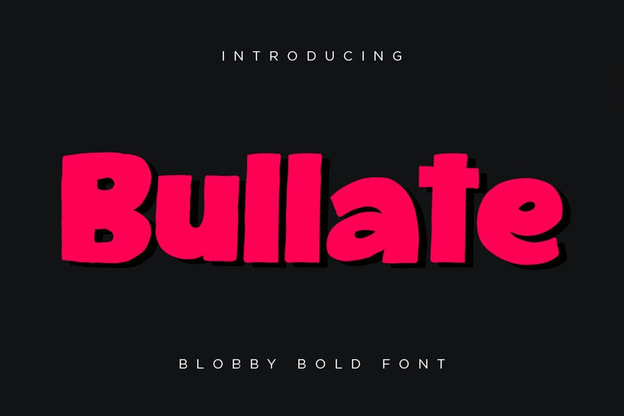 Bubbly Playful Typefaces