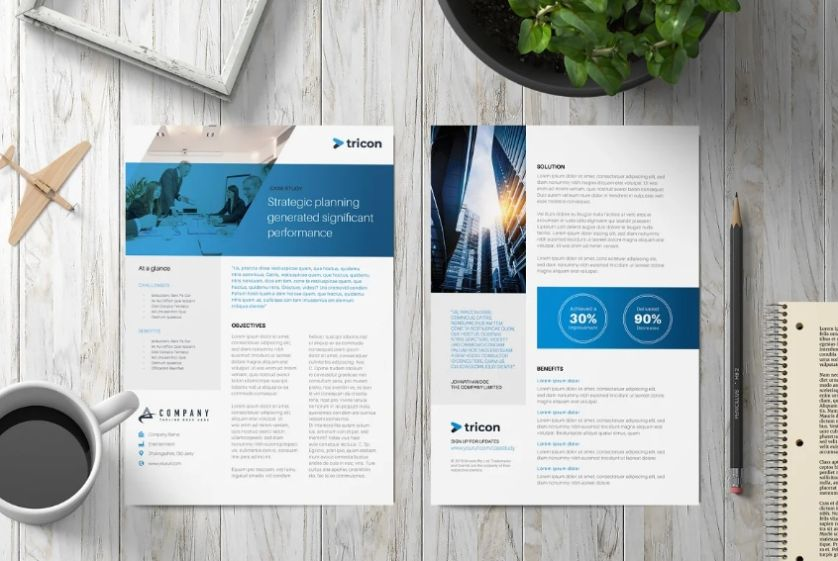 Business Case Study Flyer