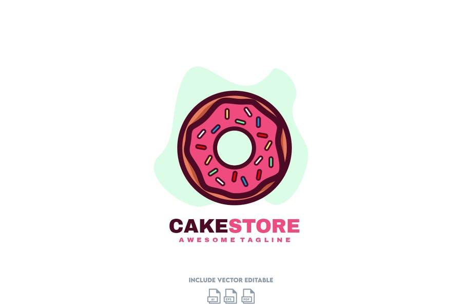 Cake Store Branding Design