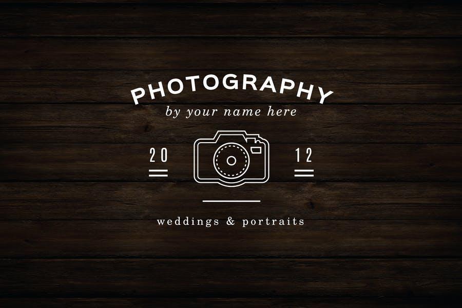 Camera Photography Logo