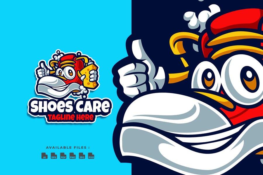 Cartoon Shoes Logo Designs