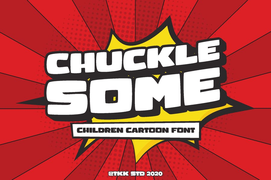 Children Comic Heavy Fonts