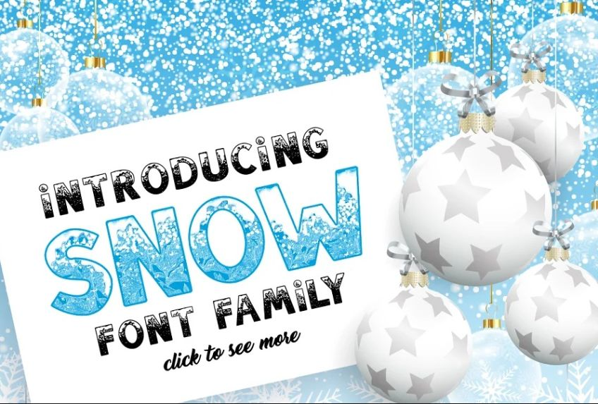 Christmas Font Typeface