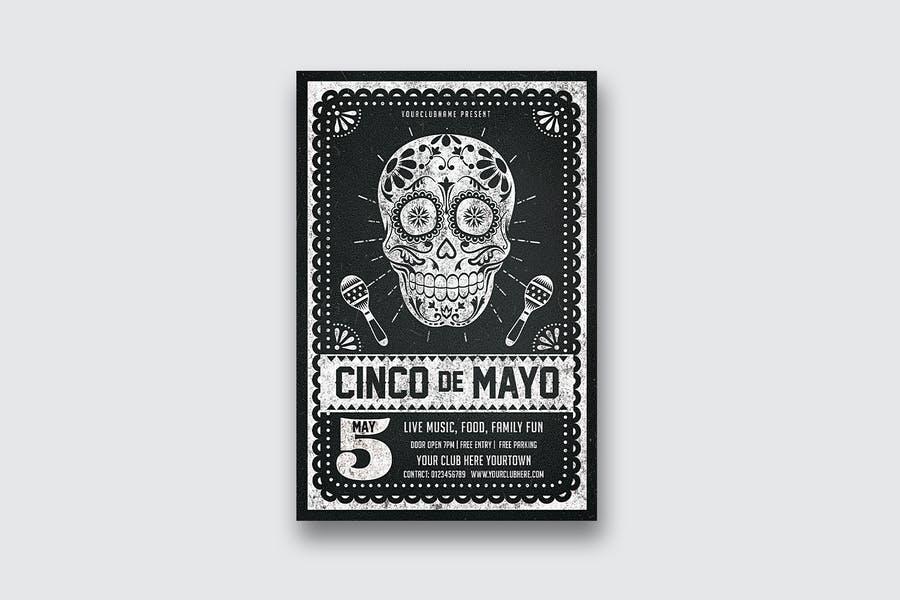 Cinco De Mayo Flyer Design