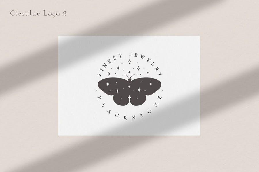 Circular Jewelry Logo Idea