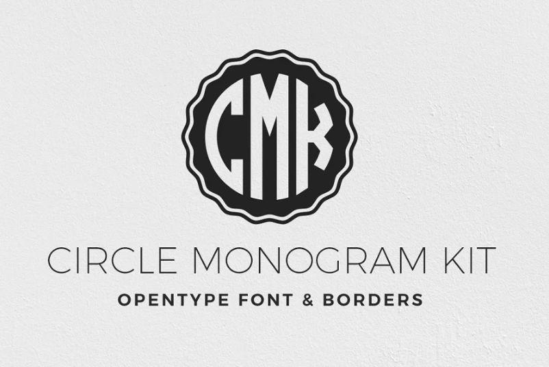 Circular Monogram Kit