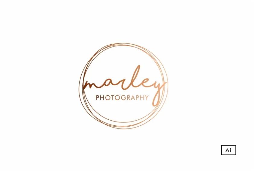 Circular Photography Logo Idea