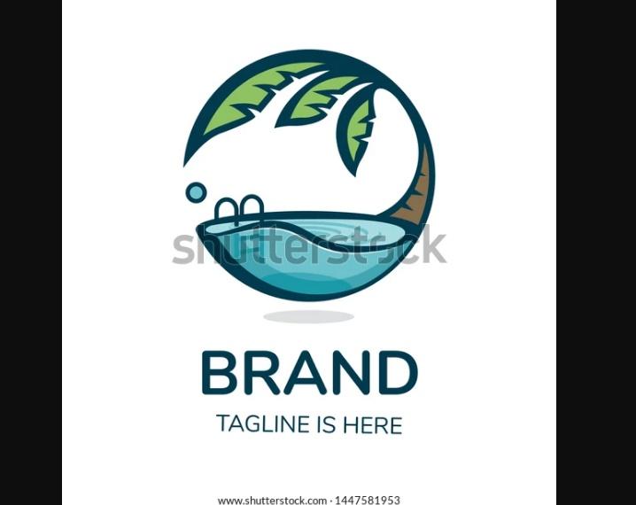 Circular Pool Logo Idea