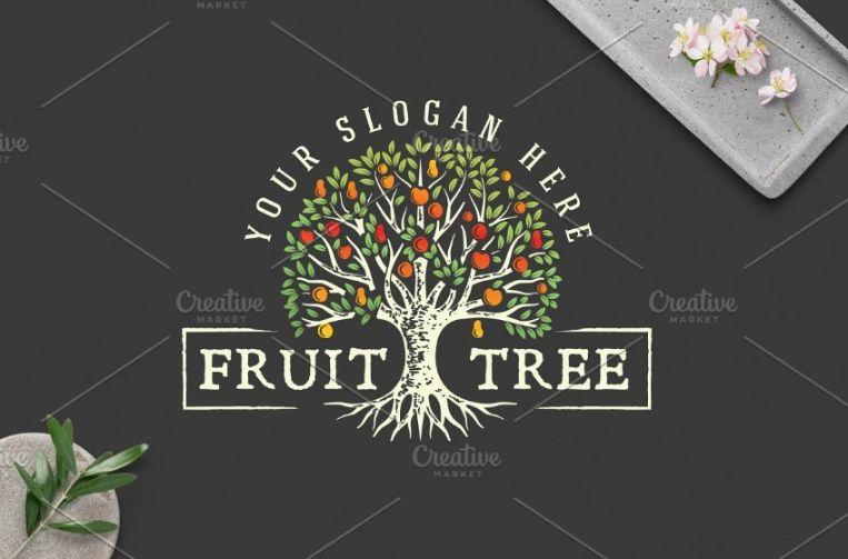 Circular Tree Logo Designs
