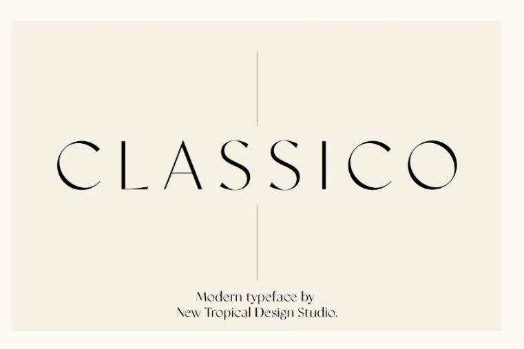 Classic and Elegant Fashion Font
