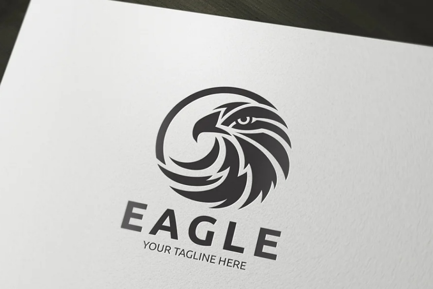 Classy Eagle Logo Ideas