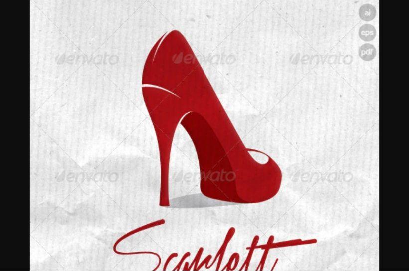 Classy Shoe Logo Template