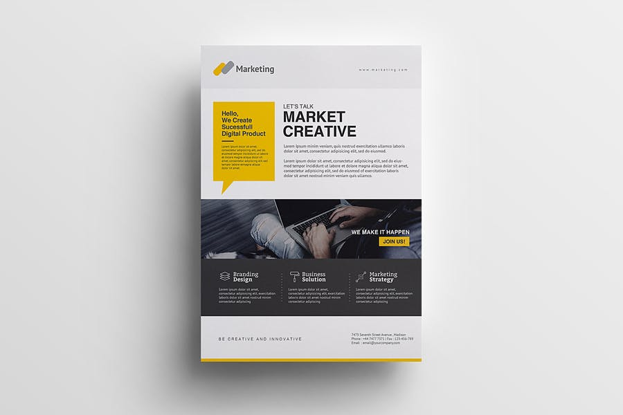 Cleam Promotion Template