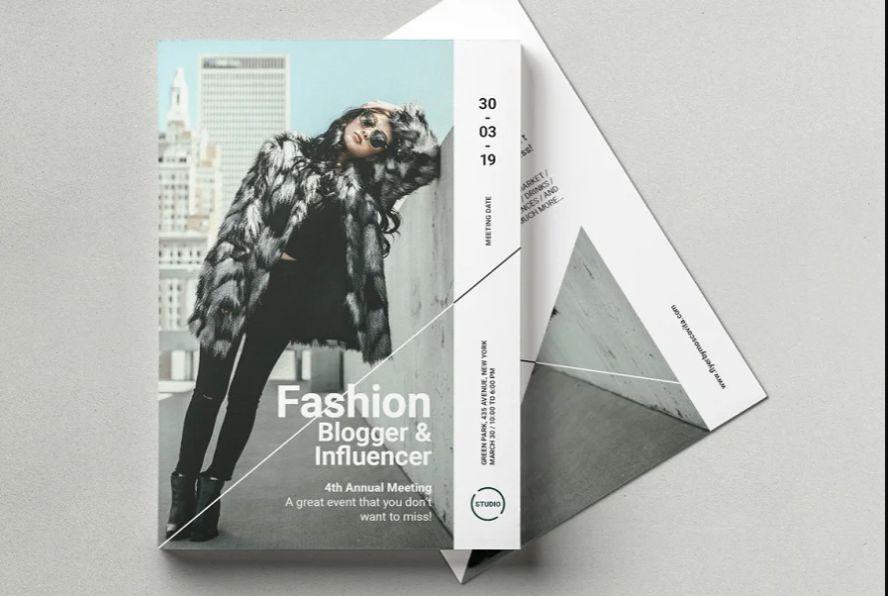 Clean Fashion Blog Flyer