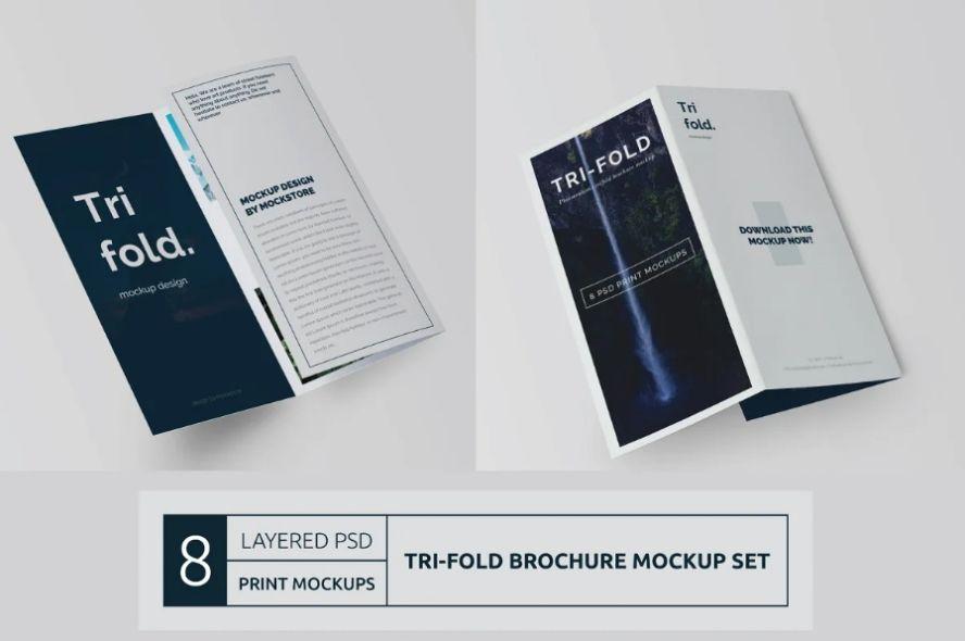 Clean Tri Fold Business Brochure