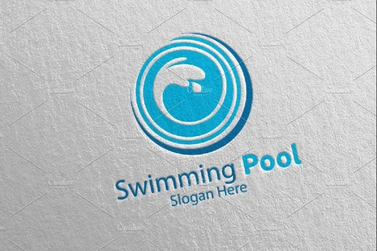 Cleaning Pool Services Logo
