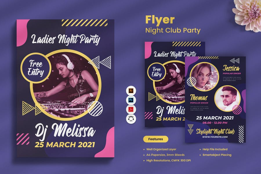 Club Night Flyers