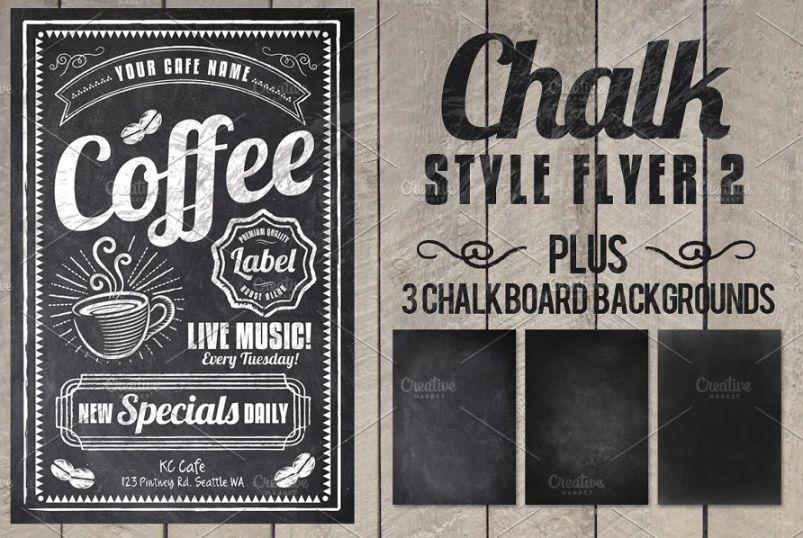 Coffee Bar Flyer Templates