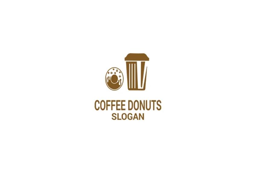 Coffee Donuts Logotype