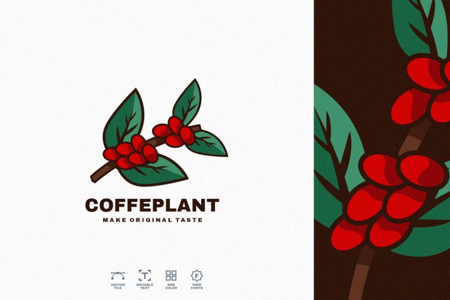 Coffee Plant Branding Design