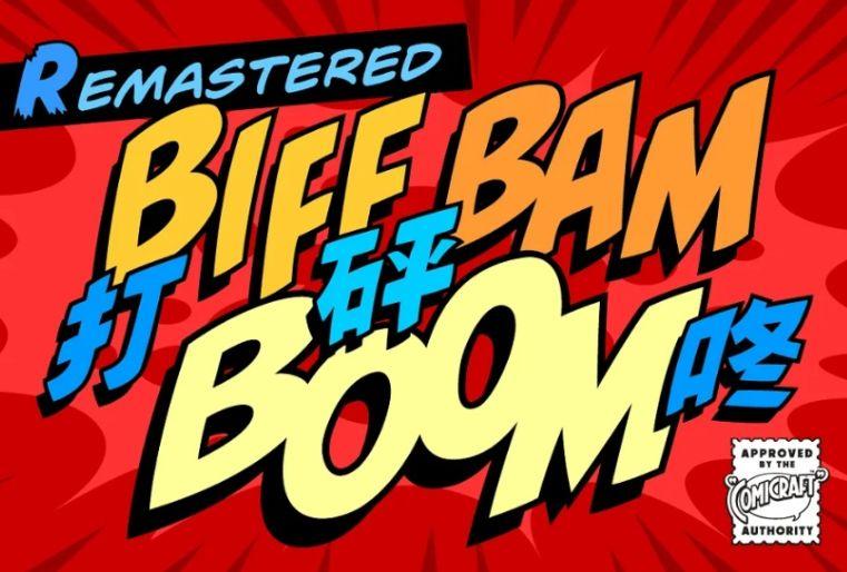 Comic Sound Effect Fonts
