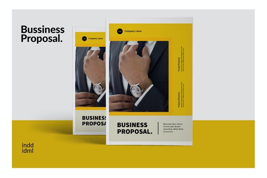 Company Business Brochure Template